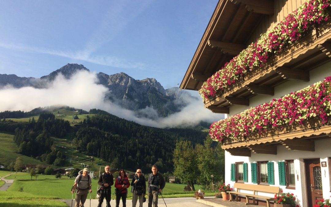 Notre trek en Autriche