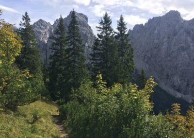 trek dans le Tyrol autrichien